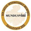 Medalha Mundos Vini - World Wines Contest